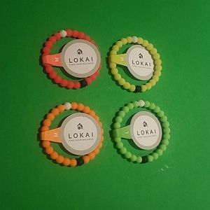 Set of 4 Lokai bracelets